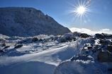 くじゅうの冬景色