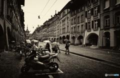 スイス・雨の似合う街・ベルン