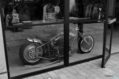 バイクのある店
