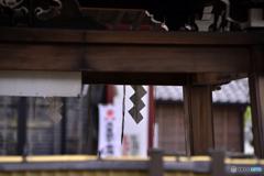 羽田神社にて
