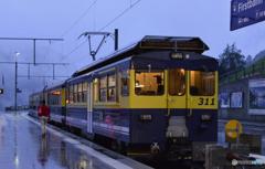スイス・思い出の列車達---7