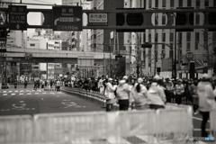 東京マラソンの日---①
