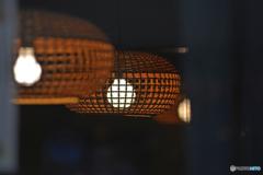 蕎麦屋の灯り
