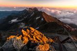 Abendrot Hotaka Mountain Range
