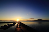 目覚めの朝~重富漁港