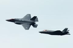 F-35(観閲式本番)①