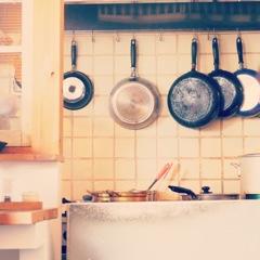 お店のキッチン
