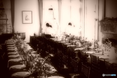 西洋館での披露宴