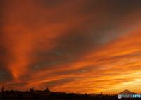 OLYMPUS E-M1で撮影した(夕焼け空)の写真(画像)