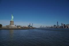 ニューヨークと女神