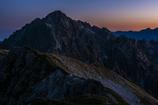 夜明の剱岳