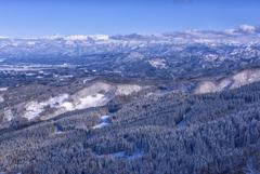 牛岳からの景色