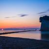見附島の日の出