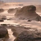 NIKON NIKON D800で撮影した(多摩川の幻想)の写真(画像)