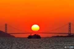 明石海峡大橋サンド