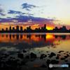 朝を待つ水上都市