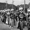 会津田島祇園祭り 七行器行列 日本の風景