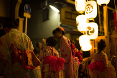 祇園祭 宵山の光景