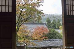 永平寺、秋の始まり