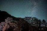 屏風岩の夜