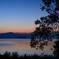 琵琶湖・日の出