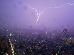 ゲリラ豪雨がやってきた!!