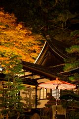 温泉寺の秋夜