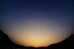 遠き山に日は落ちて・・秋だけに