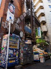 センター街の青果店