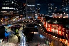12月の東京駅景