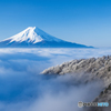 雲海の三つ峠