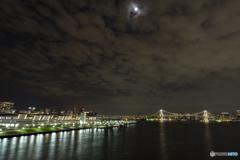 豊洲大橋からの夜景