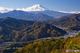 百蔵山 富士山展望地