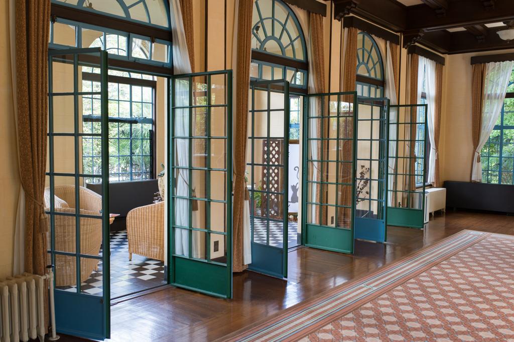山手西洋館ハロウィン装飾 ベーリックホール
