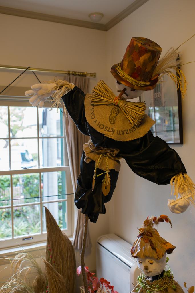 山手西洋館ハロウィン装飾 山手111番館