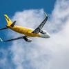 雲と旅客機1