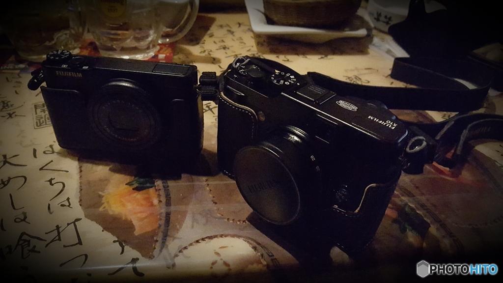 日常124。 夫婦カメラ。