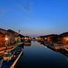 内川 夜の訪れ