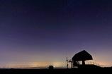 富山平野の明かり