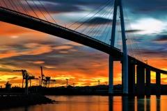 夕焼け大橋
