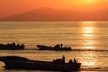 富山湾の朝#1