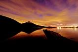 朝焼けの田貫湖