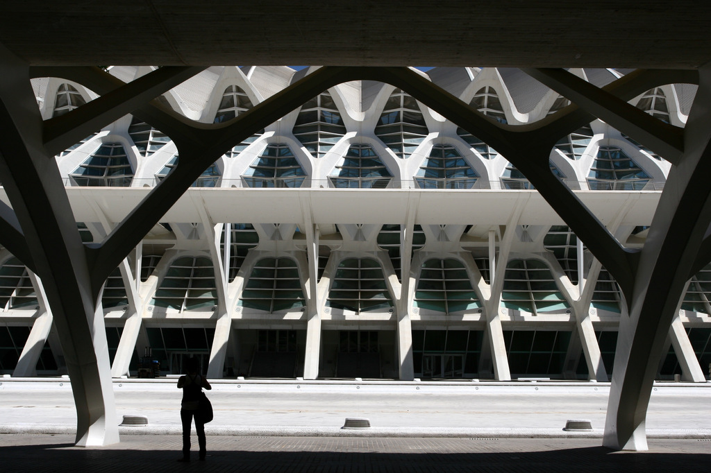 バレンシア芸術科学都市 1