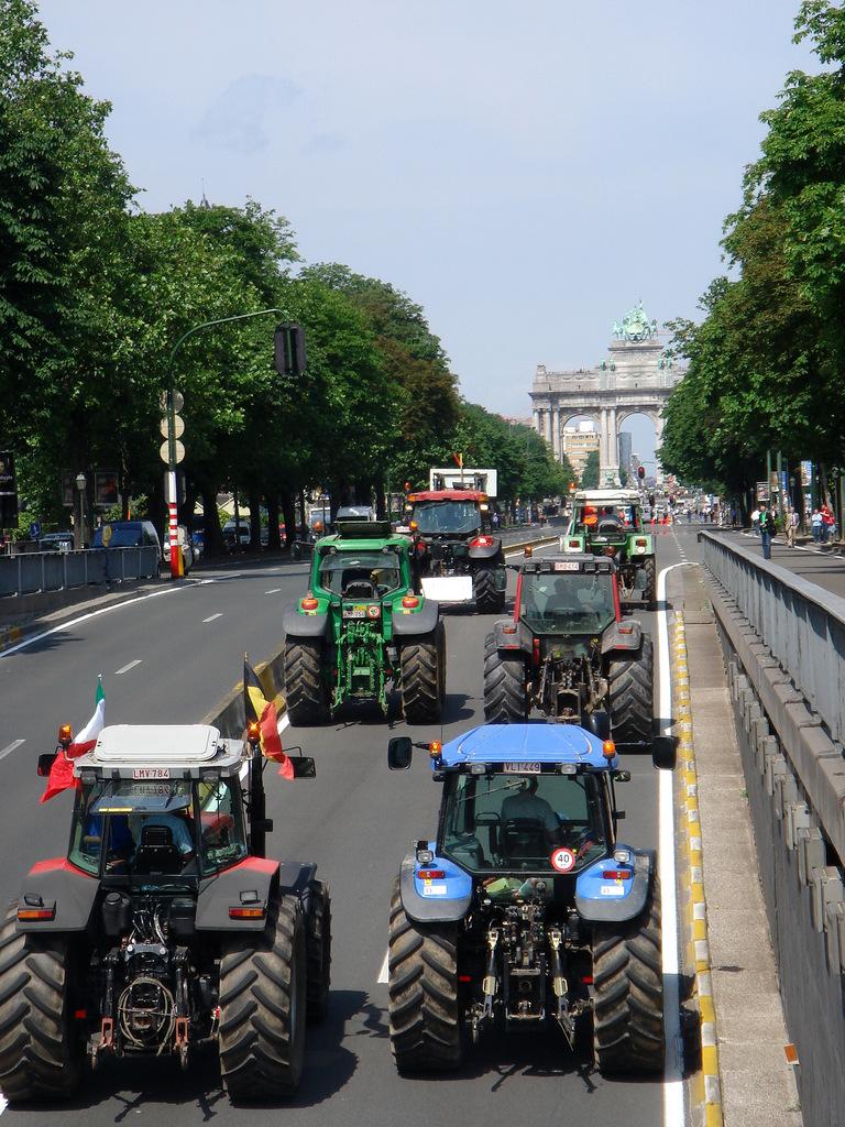 Manifestation à Bruxelles, BE