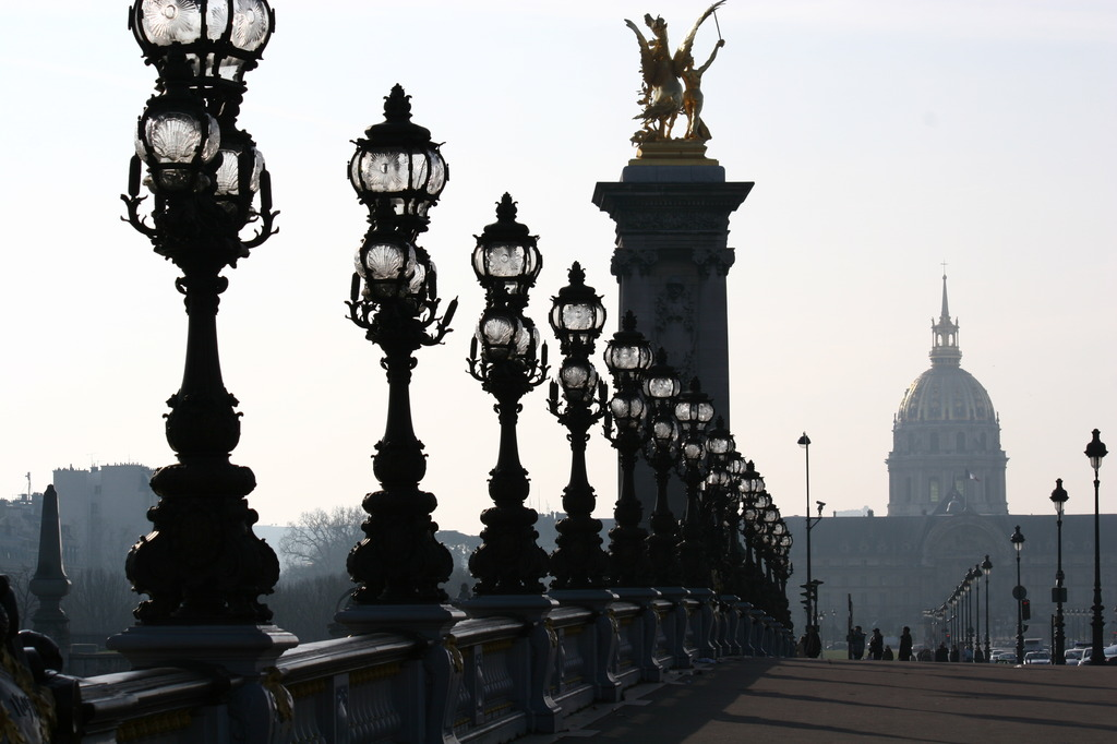 Pont Alexandre III, Paris, FR