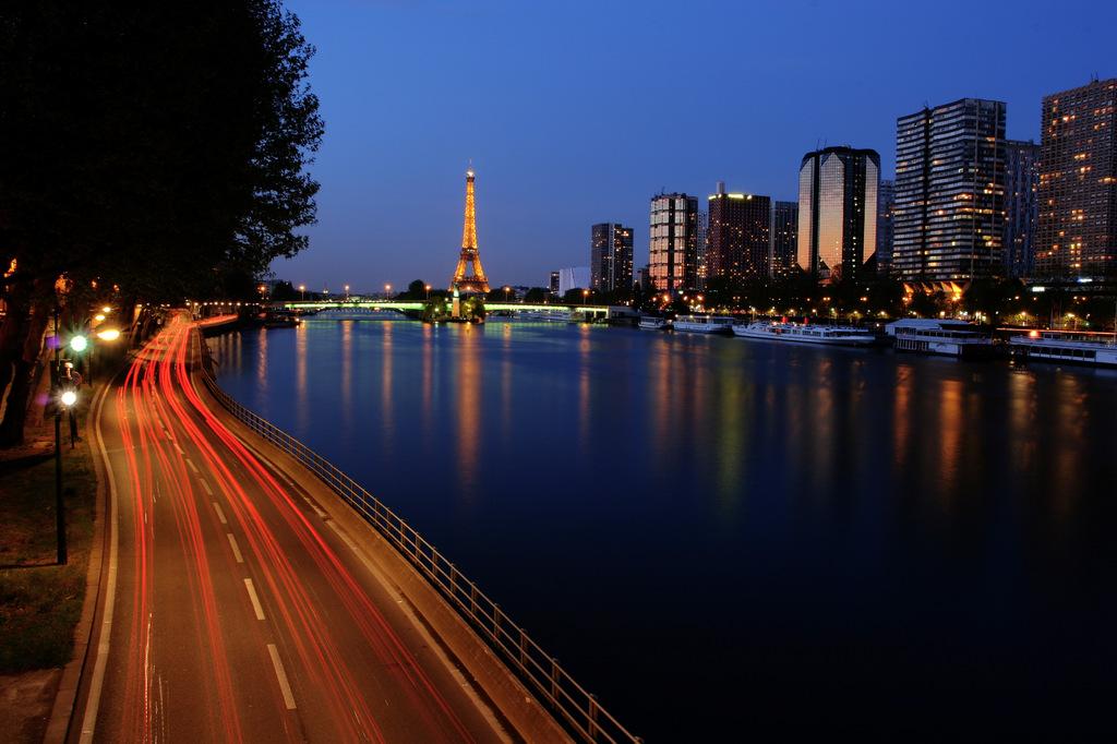La Seine, Paris, FR