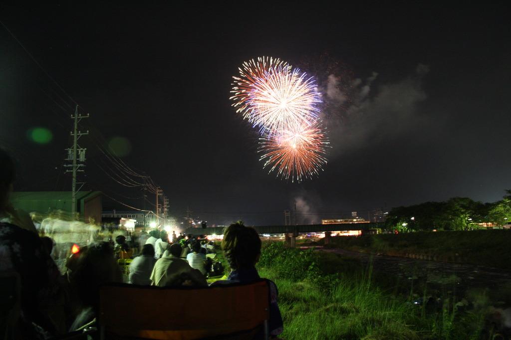 納涼花火大会(中津川)