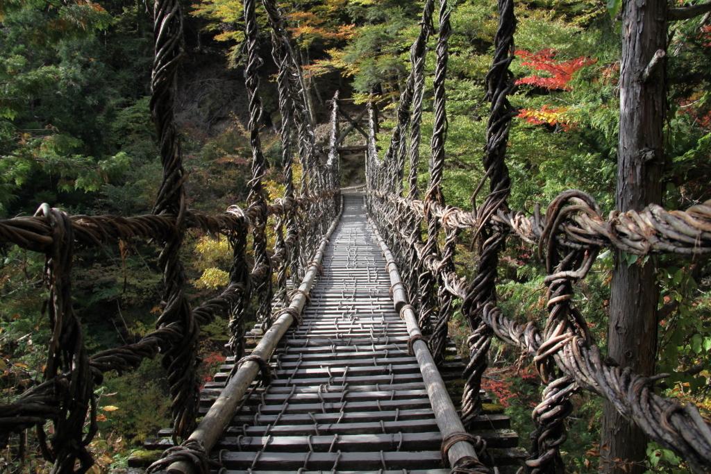かずら橋②