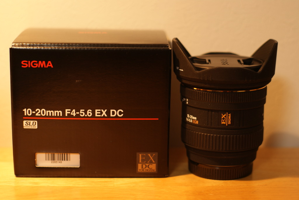 SIGMA 10-20mm F4-5.6 EX DC