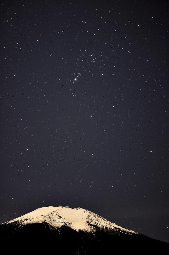 富士山と星空2